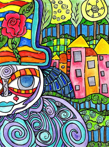 Hundertwasser and Architecture Harmony with Nature & Man