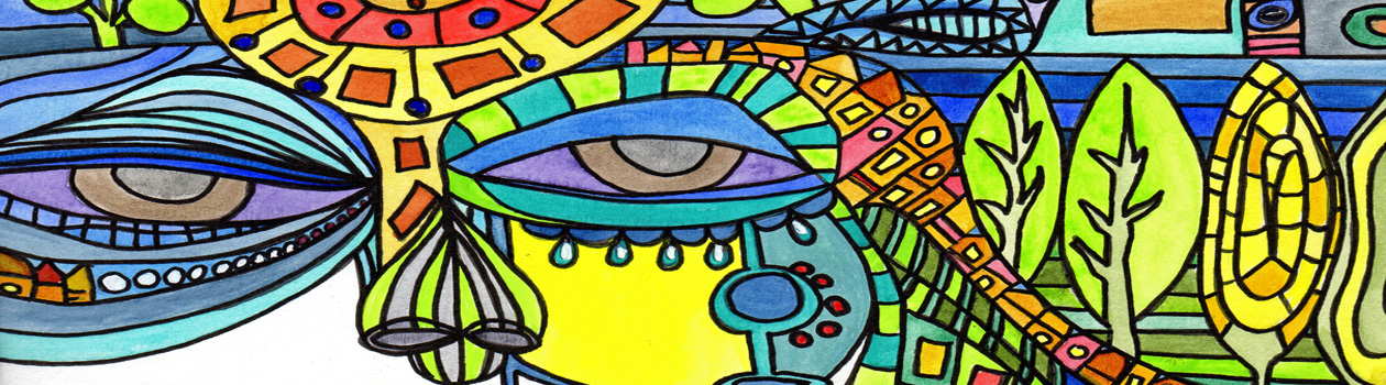 colorful header image created by Kimberly McGuiness
