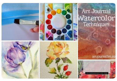 watercolor-tips-tutorials-pinterest-board