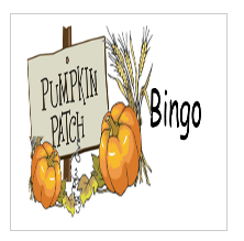 pumpkin patch bingo
