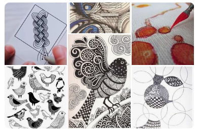 zentangle-tutorials-patterns-pinterest