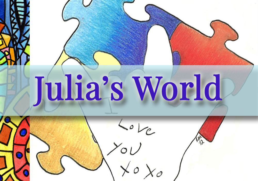 julia's world logo